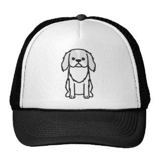 Desenhos animados do cão de Chin do japonês Boné