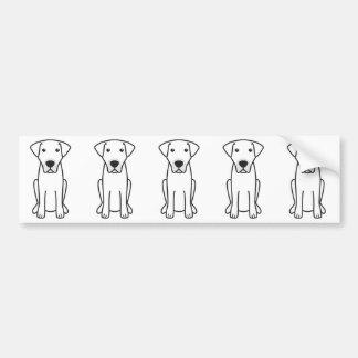 Desenhos animados do cão de Kangal Adesivo Para Carro