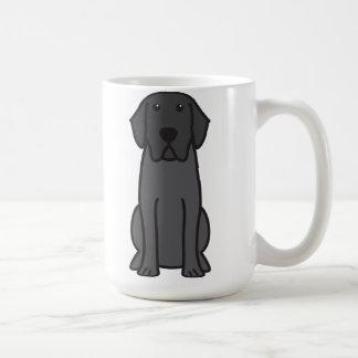 Desenhos animados do cão de labrador retriever canecas