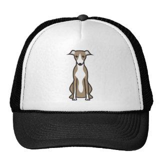 Desenhos animados do cão de Whippet Boné