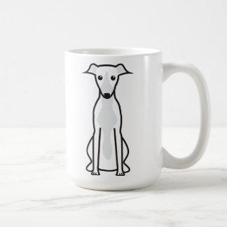 Desenhos animados do cão de Whippet Caneca De Café