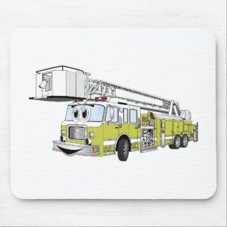 Desenhos animados do carro de bombeiros do Snorkel Mouse Pad