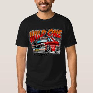 Desenhos animados do carro do músculo de V8 do aus Tshirts