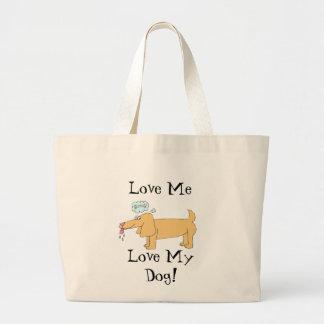Desenhos animados do filhote de cachorro bolsas para compras