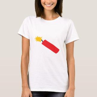 Desenhos animados do foguete, TNT, dinamite Camiseta