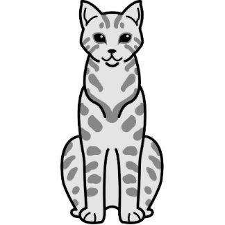 Desenhos animados do gato de Mau do egípcio Fotoescultura