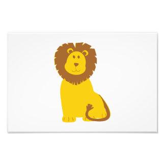 Desenhos animados do leão fotos