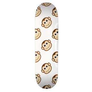 Desenhos animados do macaco shape de skate 18,1cm