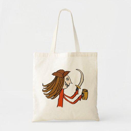 Desenhos animados do pirata bolsa para compra