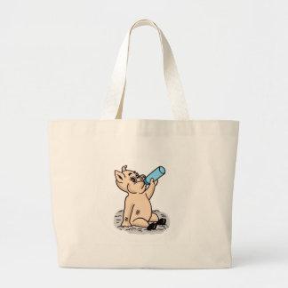 Desenhos animados do porco do bebê bolsas