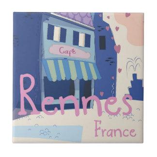 Desenhos animados do vintage de Rennes France