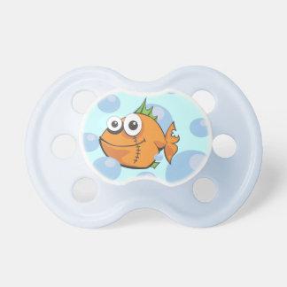 Desenhos animados dos peixes chupeta