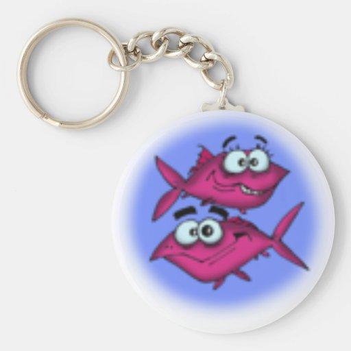 desenhos animados dos peixes chaveiro