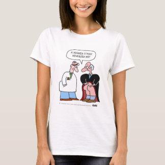 Desenhos animados engraçados da carreira jurídica camiseta