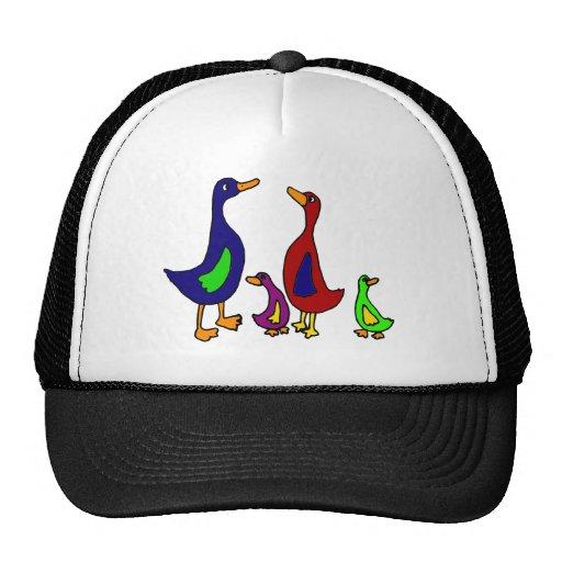 Desenhos animados engraçados da família do pato bones