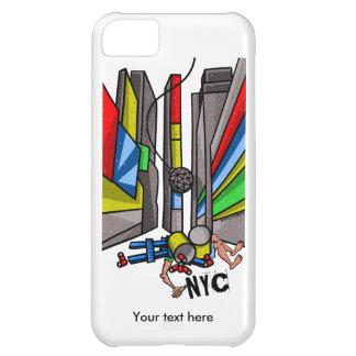Desenhos animados engraçados da gota da bola do capa para iPhone 5C