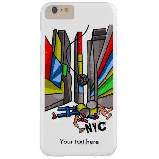 Desenhos animados engraçados da gota da bola do capas iPhone 6 plus barely there