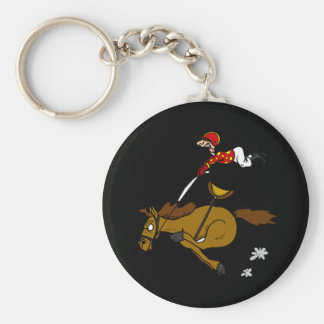 Desenhos animados engraçados do cavalo de chaveiros