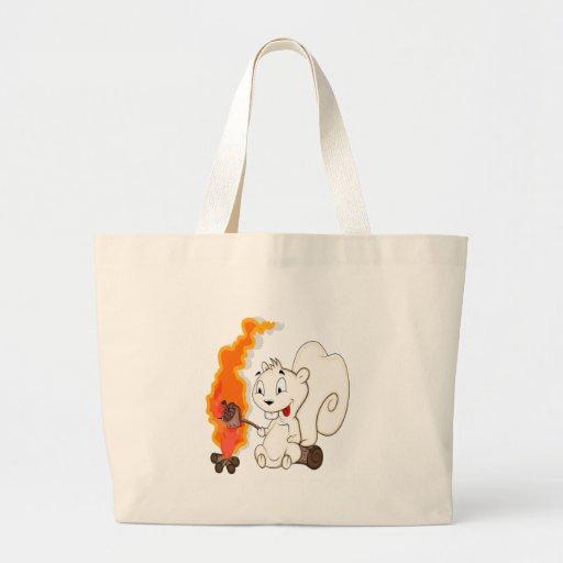 Desenhos animados engraçados do esquilo bolsa