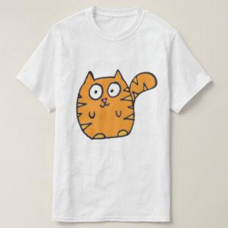 Desenhos animados engraçados do gato tshirt