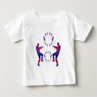 DESENHOS ANIMADOS ENGRAÇADOS do teste padrão das Tshirt