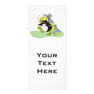 desenhos animados engraçados do transportador do g panfleto informativo personalizado