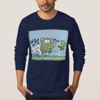 Desenhos animados engraçados dos sapos t-shirt