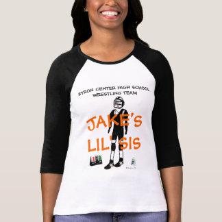 Desenhos animados feitos sob encomenda da irmã mai camisetas