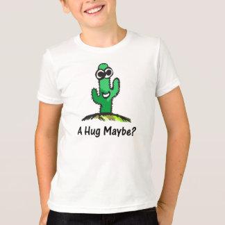 Desenhos animados felizes do cacto camiseta