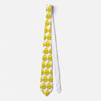 Desenhos animados felizes do pato gravata