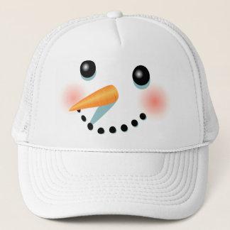 Desenhos animados gelados legal do boneco de neve boné