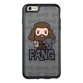 Desenhos animados Hagrid e arte do caráter do