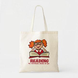 Desenhos animados & livros bolsa tote