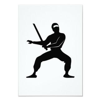 Desenhos animados Ninja Convites