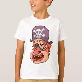 Desenhos animados principais do pirata camiseta