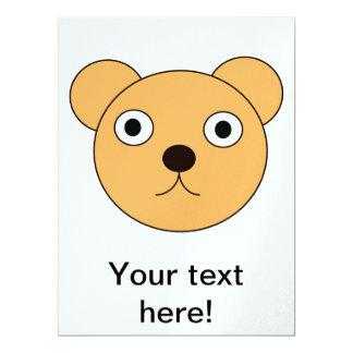 Desenhos animados principais do urso convites