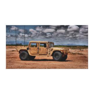 Deserto Humvee - impressão das canvas de belas art