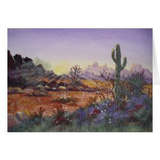 Deserto Sun - cartões vazios