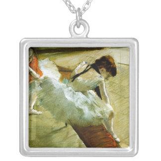 Desgaseifique a arte da bailarina do balé do jogad colares personalizados