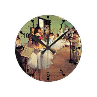 Desgaseifique: A classe de dança, 1874 Relógio Para Parede