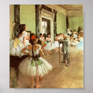 Desgaseifique a classe de dança pôster