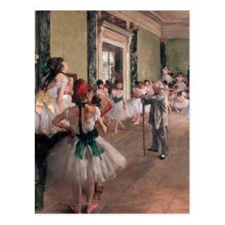 Desgaseifique a pintura do balé, classe velha do cartão postal