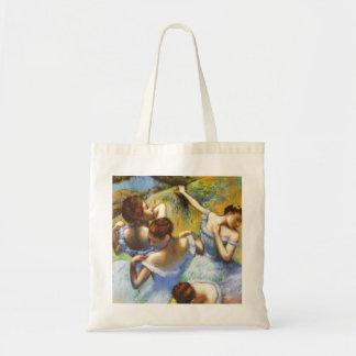 Desgaseifique a sacola azul dos dançarinos bolsa tote