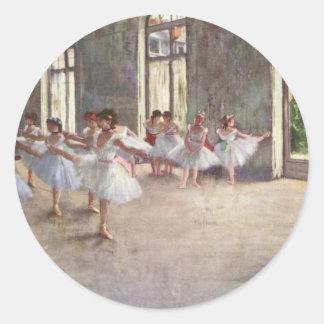 Desgaseifique dançarinos de balé adesivo