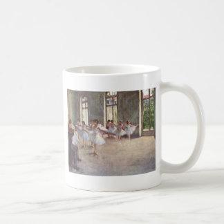 Desgaseifique dançarinos de balé caneca de café