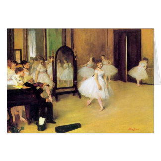 Desgaseifique dançarinos de balé cartão