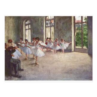 Desgaseifique dançarinos de balé cartão postal