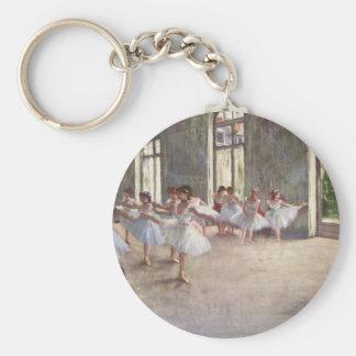 Desgaseifique dançarinos de balé chaveiro