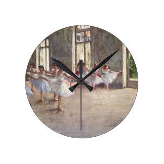 Desgaseifique dançarinos de balé relógios de paredes