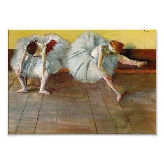 Desgaseifique o impressão da foto de dois dançarin impressão de foto